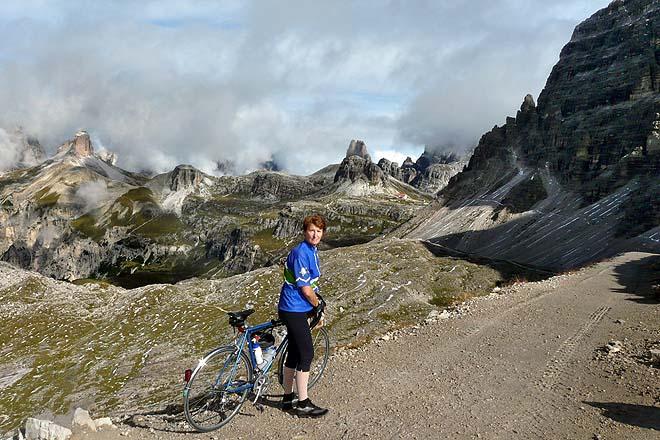 Dolomites, côté Est de la Forcella di Lavaredo