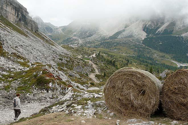 Dolomites, le mont Averau
