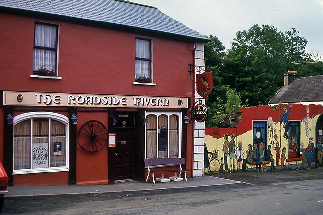 Irlande, Lisdoonvarna, Tavern