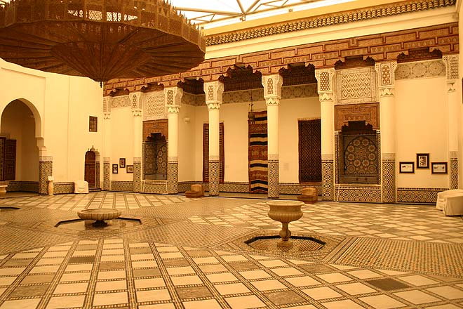 Marrakech Patio du musée