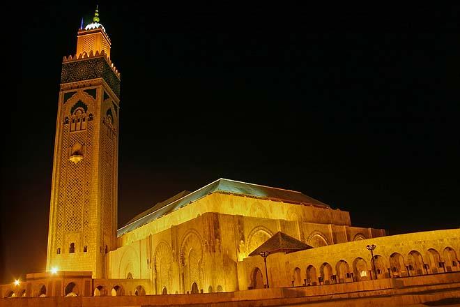 Maroc, Casablanca, mosquée Hassan II