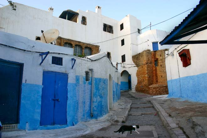 Maroc, Rabat, Kasbah des Oudaïa