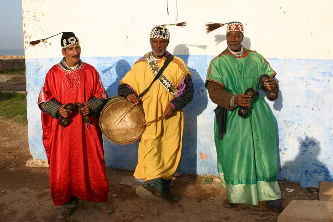 Rabat, Kasbah des Oudaïa, Gnawa