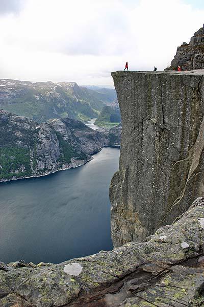 Norvege, Preikestolen
