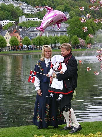 Norvege, Bergen, fête nationale