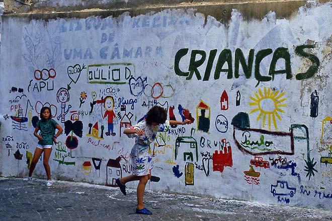 Lisbonne, Alfama, Crianças
