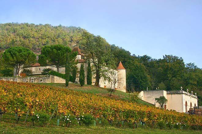 Luzech, Château de Cayx