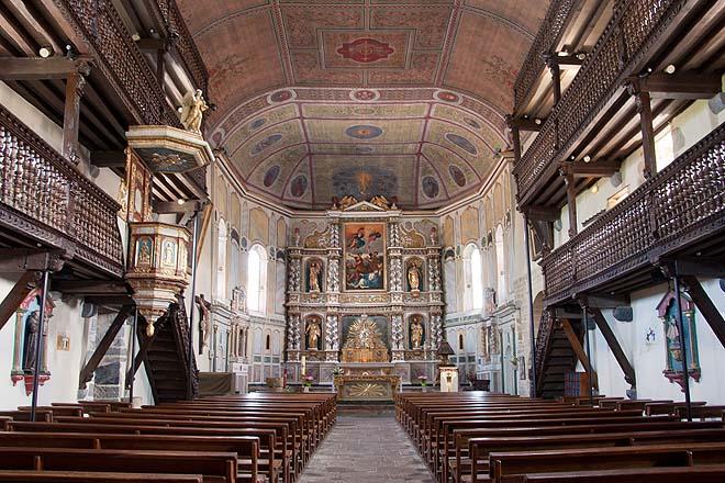 Espelette, église Saint-Etienne