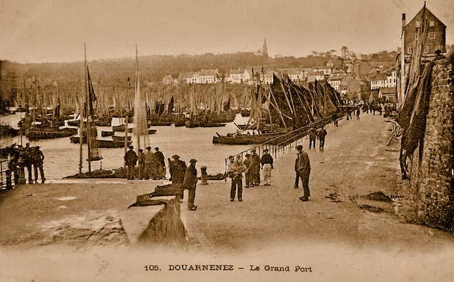 29 Douarnenez, Le Grand Port vers 1900