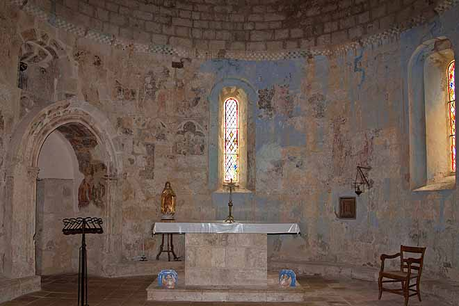 Beaumont-sur-l'Osse, Eglise de Vopillon
