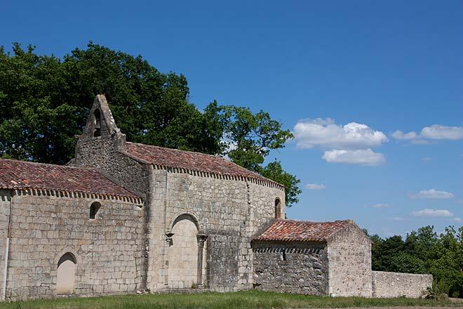 Condom, Eglise Sainte-Germaine de Baradieu