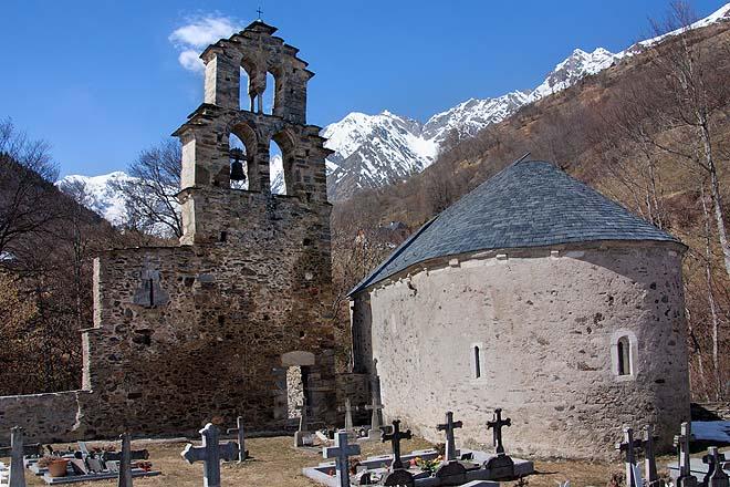 Aragnouet, Chapelle des Templiers
