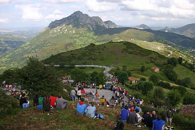 Vuelta 2008, Angliru, Curves de les Cabanes